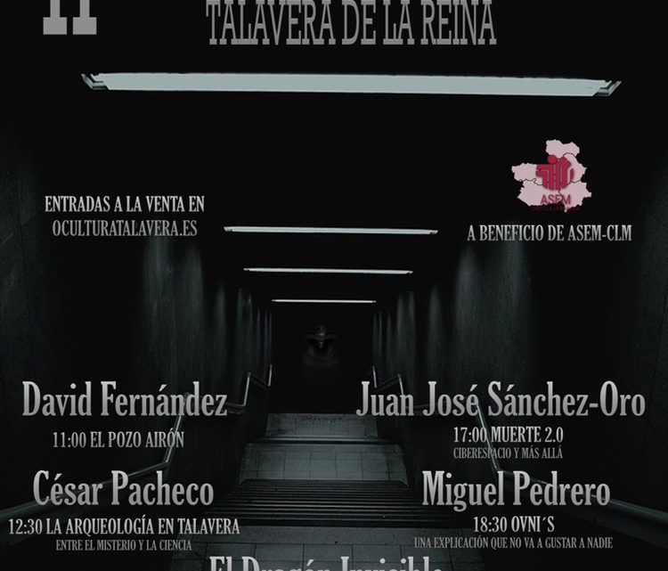II JORNADA DEL MISTERIO DE TALAVERA DE LA REINA